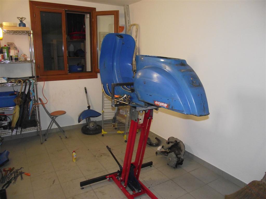 Sollevatore vespa for Sollevatore auto usato